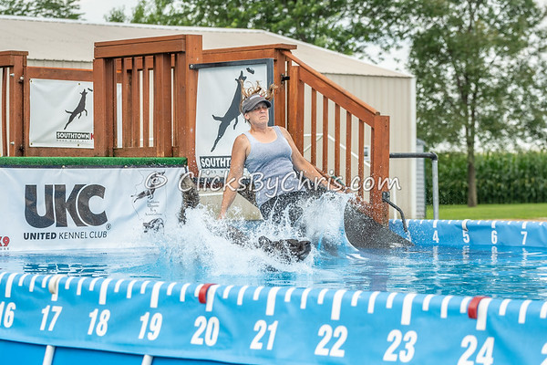Pool Rental - Southtown K9 - Wednesday, July 4, 2018