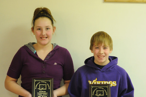 Faribault Junior Doubles Tourney | 1.15.12