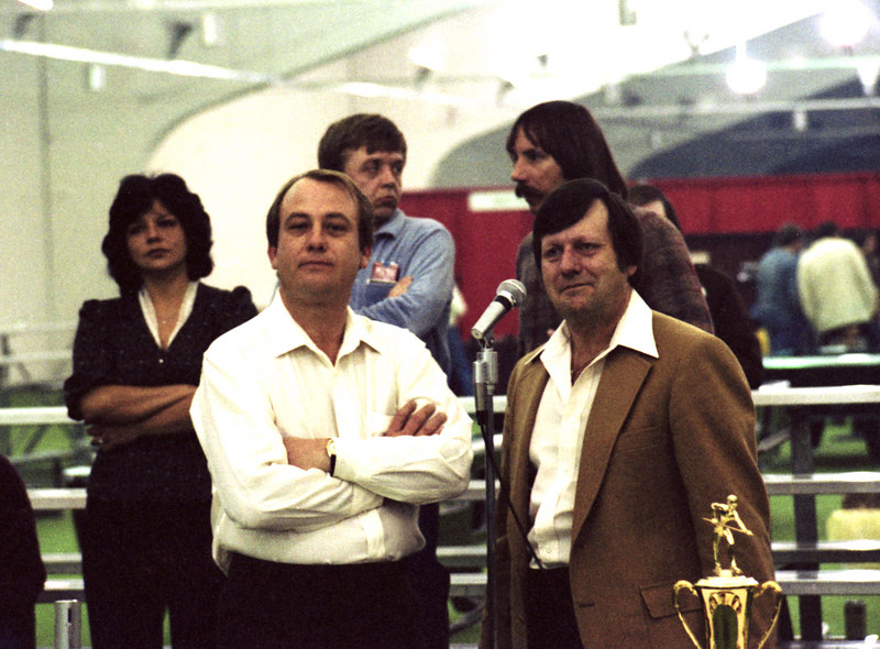 Richie Florence and Conrad Burkman