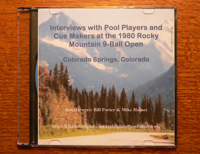 A shot of the CD cover
