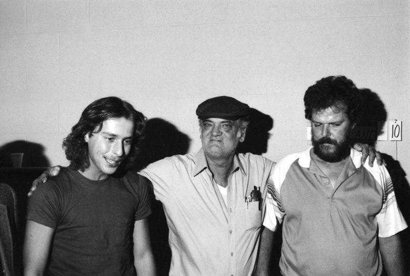 Earl Strickland, Joe Burns, and Buddy Hall