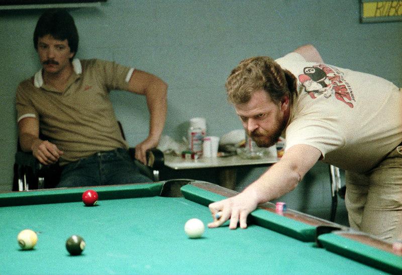 Buddy Hall - Paul Turner from Atlanta watches