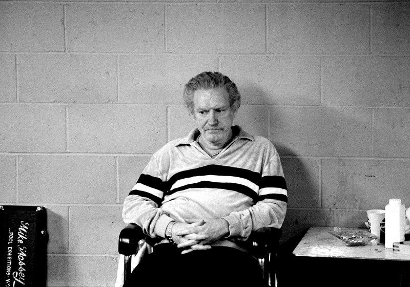 "Bill Burge (aka ""Cornbread Red"") - Billy seems to be pondering the deeper verities of life."