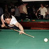 Gary Spaeth - The cue ball shows no motion blue. Do you think that means this was a posed shot? That's David Howard in the background. Is David trying to make off with someone's cue?