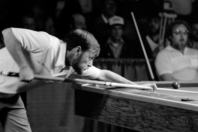 Truman Hogue playing Wade Crane - Truman is from Louisville and was (and still is) a great bank pool player.