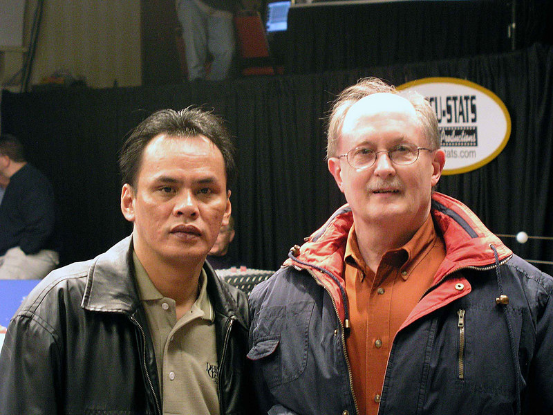 Francisco Bustamante and Mike Haines