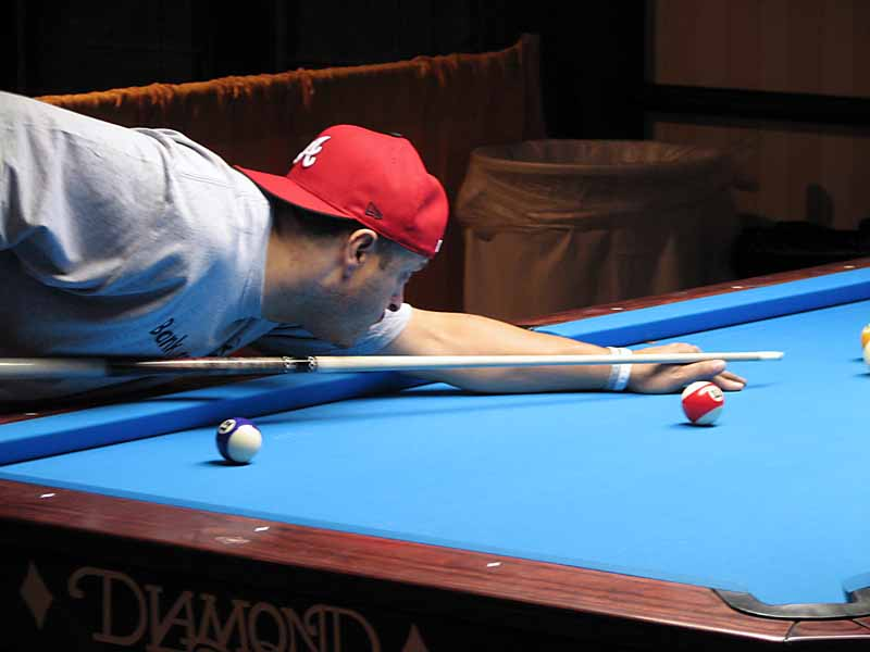 Cliff Joyner - probably the second best one-pocket player in the world behind Efren Reyes