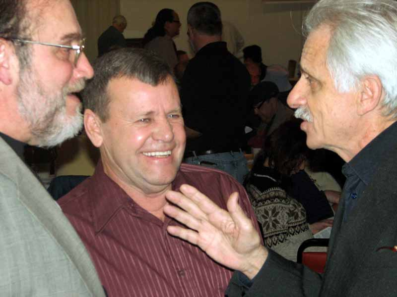 Fred Bentivegna, Truman Hoague, and Danny Diliberto