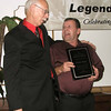 Grady Matthews congratulates Truman Hoague