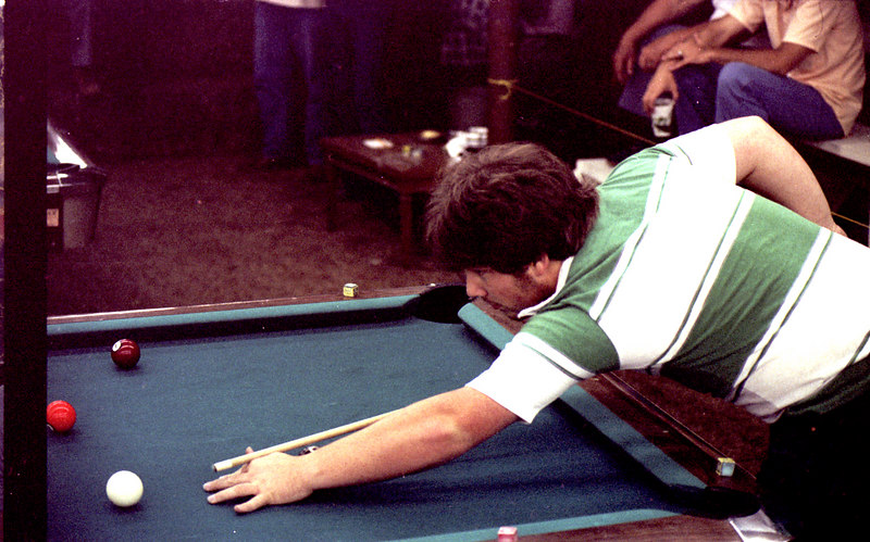 A guy who is still playing 9-ball.