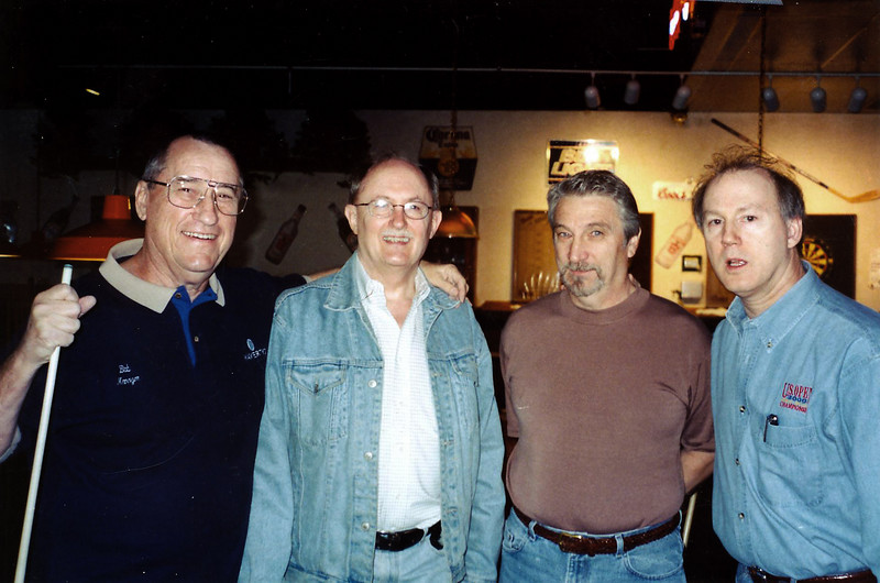Bob Vanover, Mike Haines, Jack Potter, and Dick Lane
