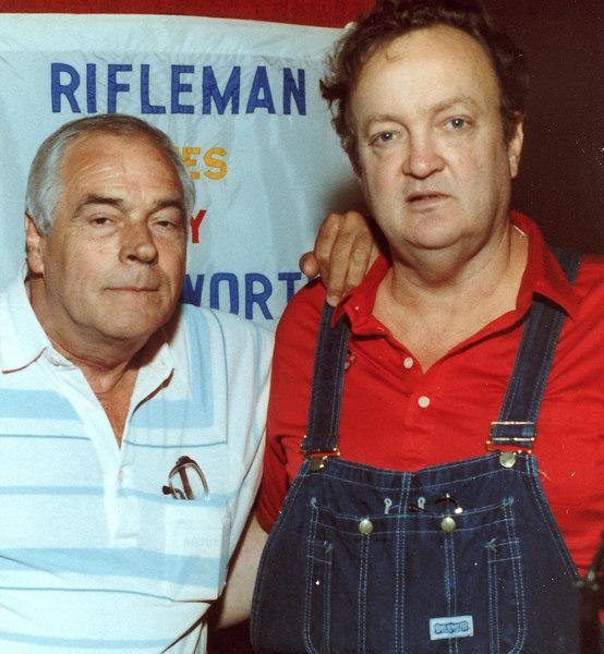 Danny Jones and Leonard Bludworth