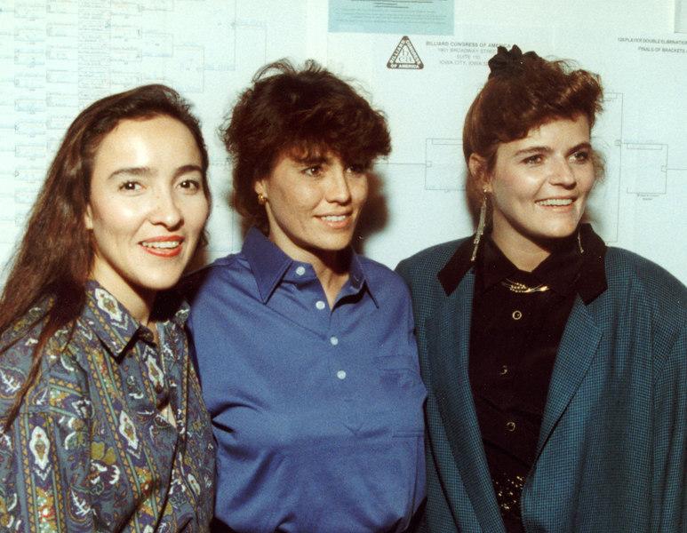 Vivian Villareal, Diane Westfall, and Julie Mason