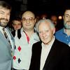 Robin Adair, Randy Goettlicher, Wllie Mosconi, and John McChesney - McDermott National Nineball Championship at Champs around 1995