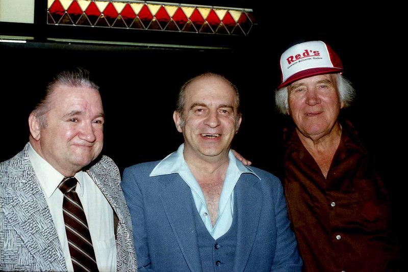 Johnny Roberts (from Lubbock, Texas), Lou Butera and U.J. Puckett