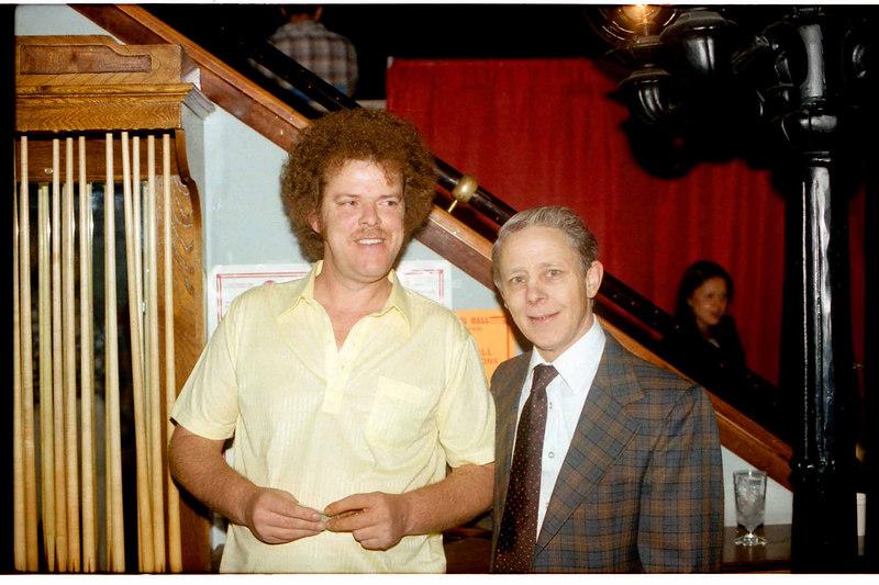 Buddy Hall and Willie Elder