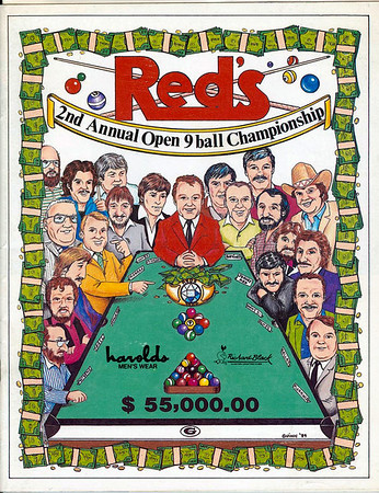 1983-1984 Red's Tournaments in Houston, TX  - photos by Mike Haines/photo editing by Bill Porter
