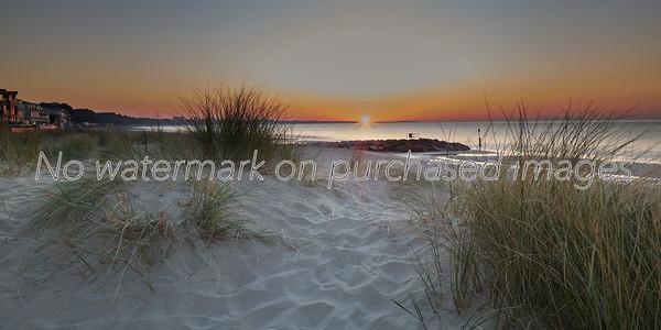 Sunrise at Sandbanks