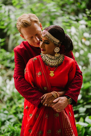 Poonam and Tom - wedding