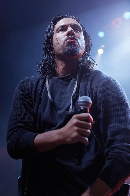 . Pop Evil  live at Fillmore Detroit on 2-24-2017. Photo credit: Ken Settle