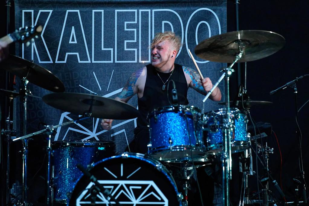 . Kaleido  live at Fillmore Detroit on 2-24-2017. Photo credit: Ken Settle