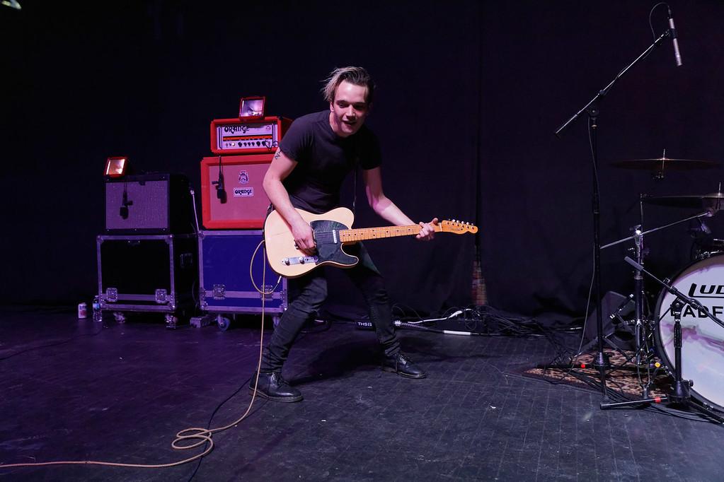 . Badflower  live at Fillmore Detroit on 2-24-2017. Photo credit: Ken Settle