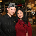 Buck\'s Executive Chef Colter Hubsch and Vanessa Rubio.