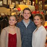 Katie Smith, Shane Wohlschlegel and Lizzy Smith.