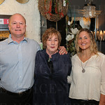 Book publisher Alan Jones, author Nancy Miller and Izzy Jones.