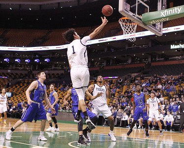 Pope John vs Mashpee at TD Garden