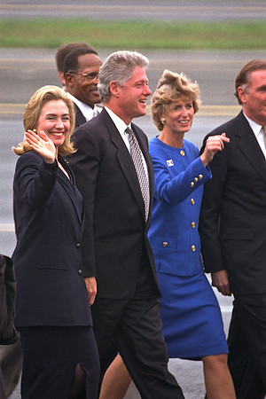 Clintons & Gov. Whitman