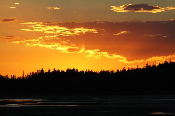Popham Beach in Maine