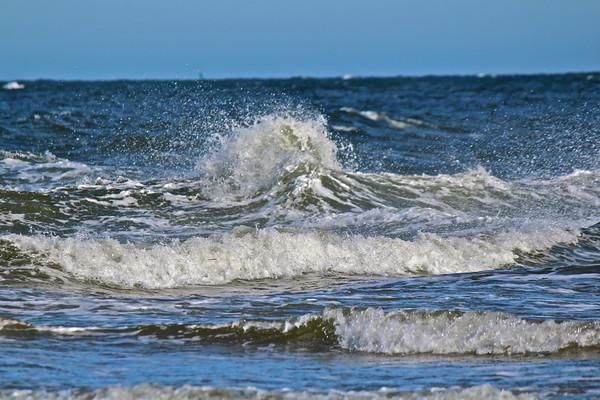 16.03.12 Popham Beach Wind and Waves