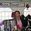 This talented lady creates and sells jewelry.