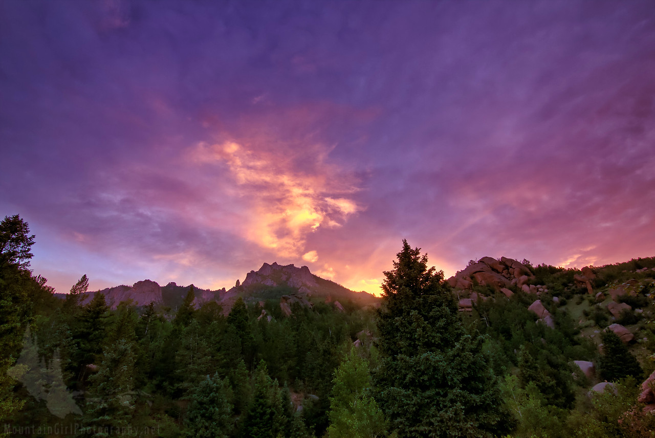 Lost Creek Sunset