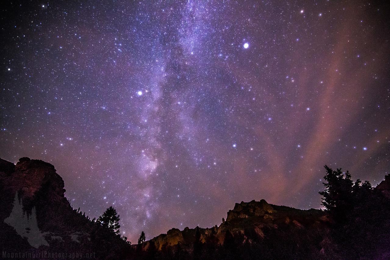 Milky Way over Lost Creek