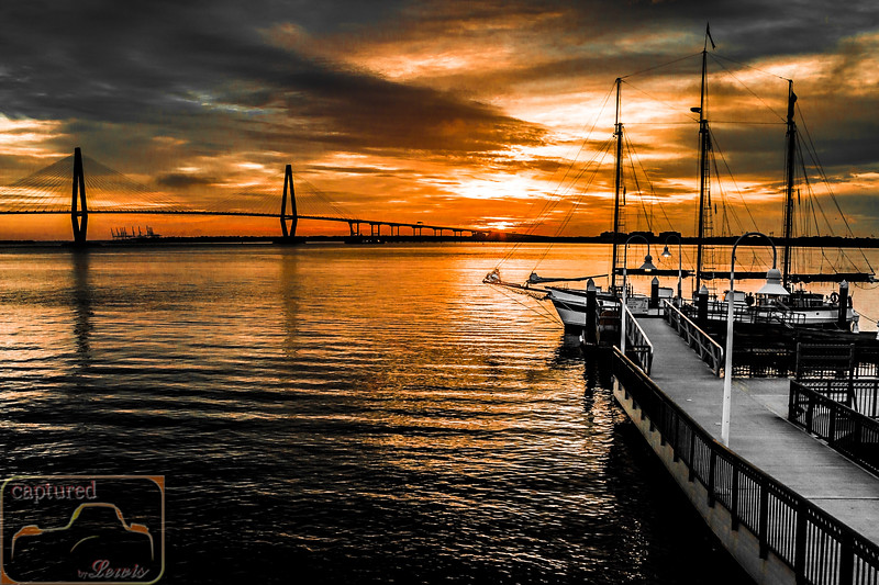 Charleston Harbor Sunrise