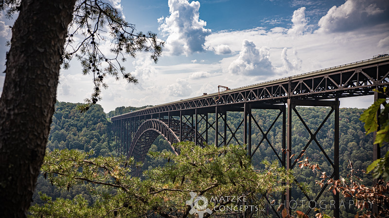 New River Gorge Bridge from Observation Deck