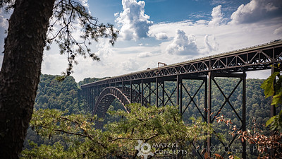 New River Gorge Bridge from Observation Deck