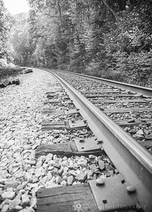 Kaymoor Trail Railroad Crossing