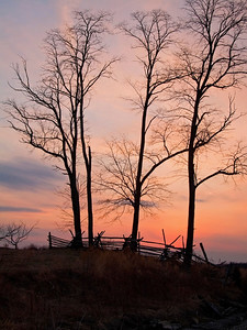 """After Sunset"" A sunset view in Monmouth Battlefield state Park Monmouth County, New Jersey."
