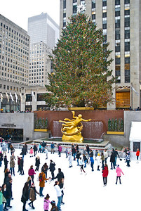 The Rockefeller Center Christmas Tree 2011
