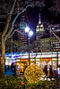 Skyline and Shops Bryant Park