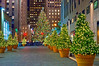 """Christmas Trees Rockefeller Center""<br /> NEW YORK - NOVEMBER 30: Holiday Decorations and the Christmas tree in Rockefeller Center on November 30, 2012 in  New York City."