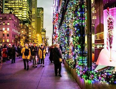 Holiday Sidewalk