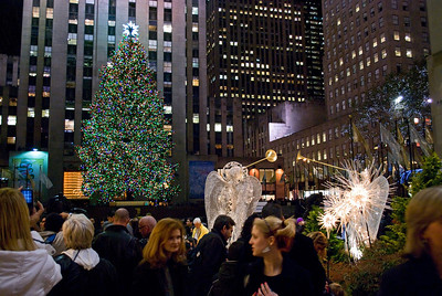The Rockefeller Center Christmas Tree 2009