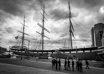 Tall Ship in Seaport