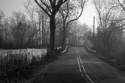 Desolate Country Road