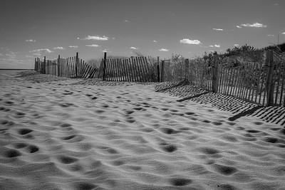 Beach Sands BW