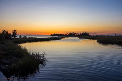 Sunset Sandy Hook Bay